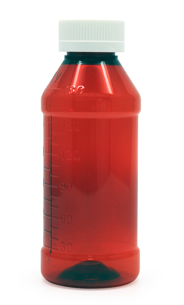 Round Liquid Bottle