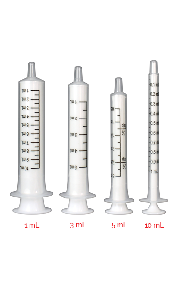 Syringes - All Sizes